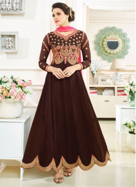 Royal  Embroidered Work Designer Salwar Kameez