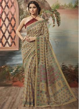 Ruritanian Art Silk Contemporary Style Saree