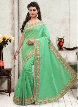 Ruritanian Beads And Stone Work Designer Saree