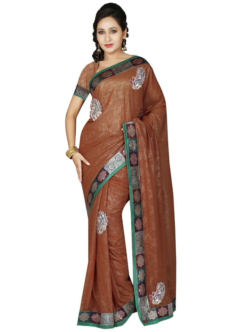 Ruritanian Booti Work Casual Saree