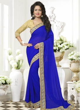 Ruritanian Contemporary Style Saree