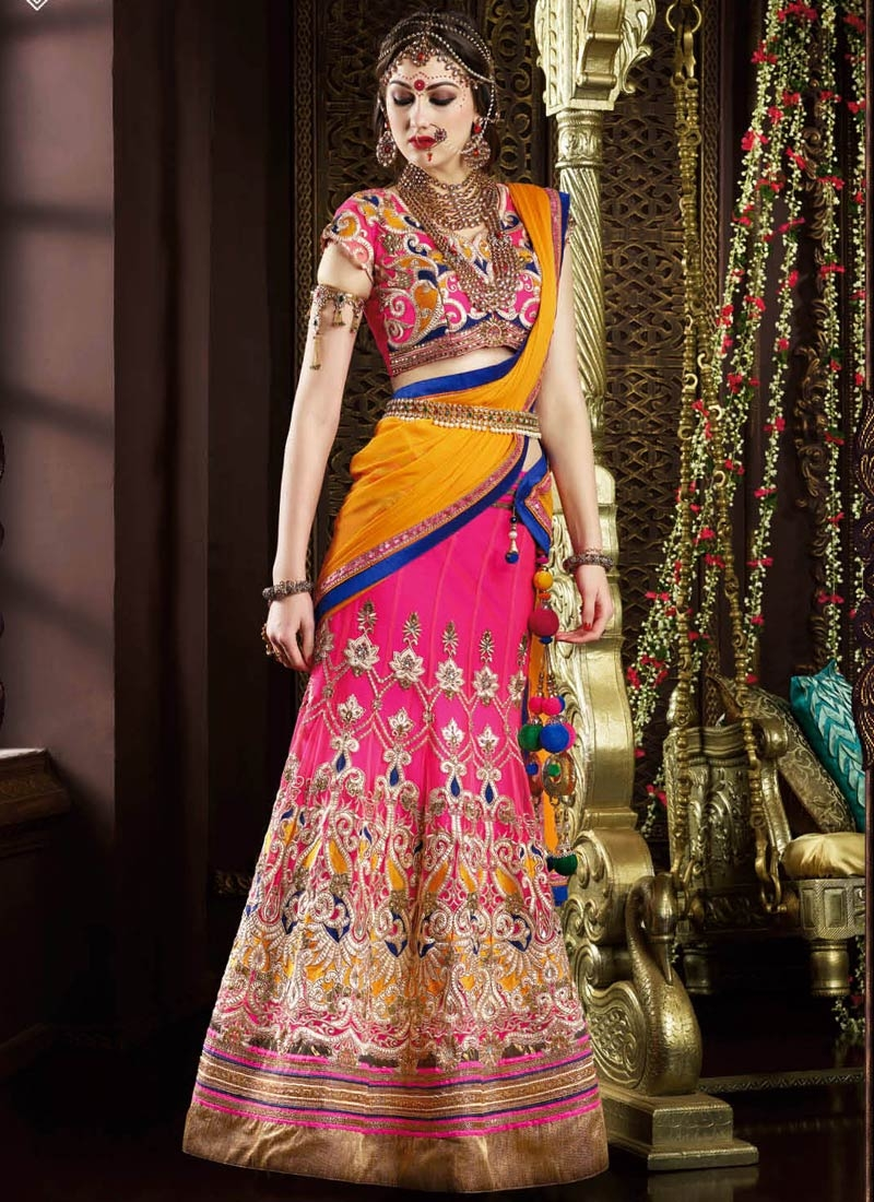 Ruritanian Embroidery Work Wedding Lehenga Choli