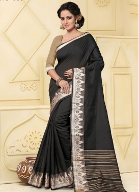 Ruritanian Thread Work Trendy Classic Saree