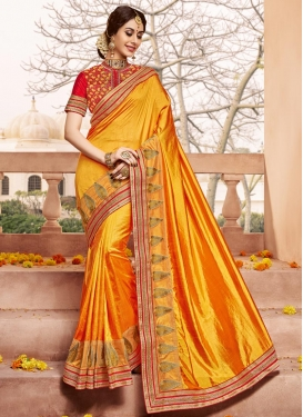 Ruritanian Trendy Designer Saree