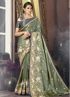 Satin Classic Saree