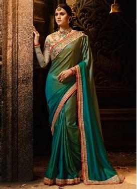 Satin Silk Classic Saree