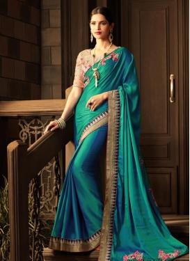 Satin Silk Classic Saree For Ceremonial
