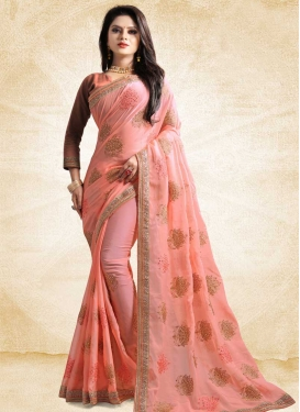 Satin Silk Classic Saree For Festival