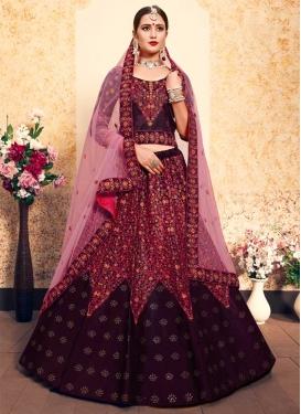 Satin Silk Designer Classic Lehenga Choli