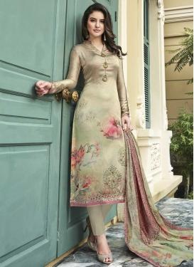 Satin Silk Pant Style Classic Salwar Suit