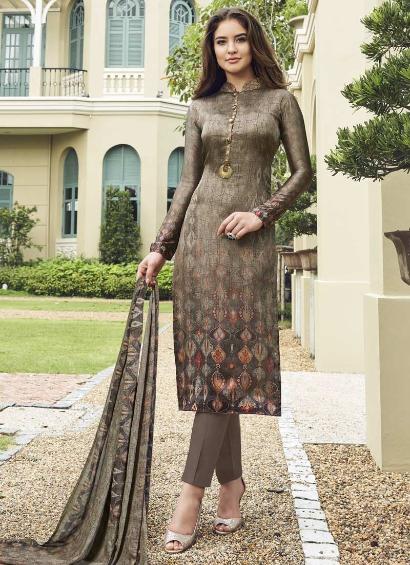 Satin Silk Pant Style Classic Suit