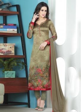 Satin Silk Pant Style Pakistani Salwar Suit