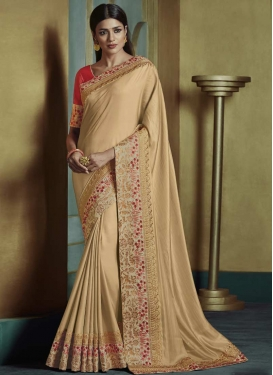 Satin Silk Traditional Saree