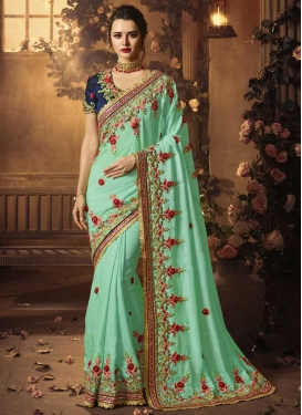 Satin Silk Traditional Saree