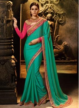 Satin Silk Trendy Classic Saree For Ceremonial