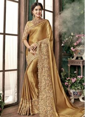 Satin Traditional Designer Saree