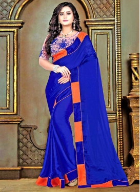 Satin Trendy Classic Saree