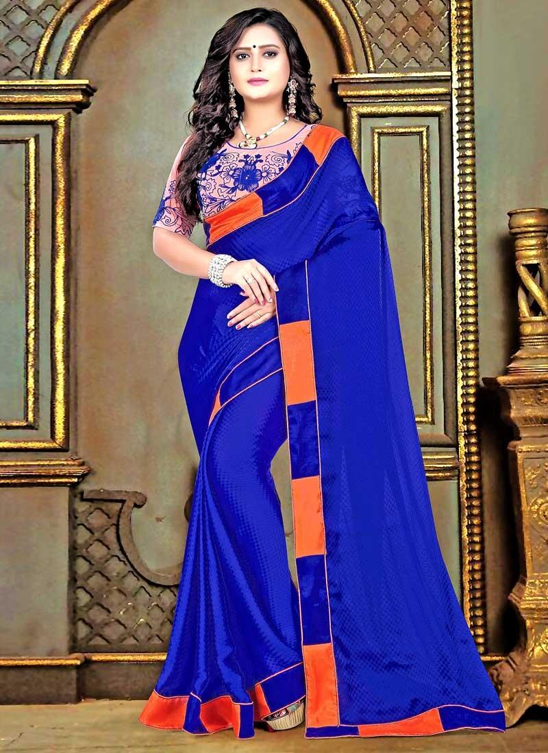 Satin Trendy Classic Saree
