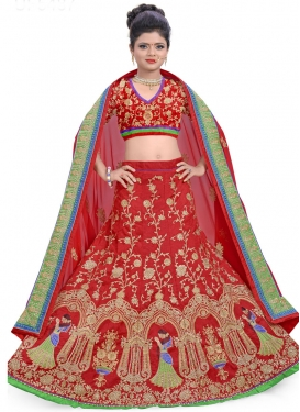 Scintillating Silk Lehenga Choli