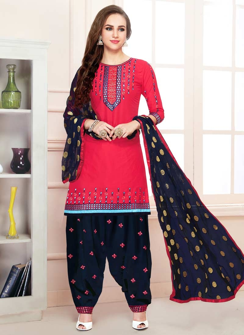 f8899e4958 Buy Semi Patiala Salwar Suit For Festival Online In UK