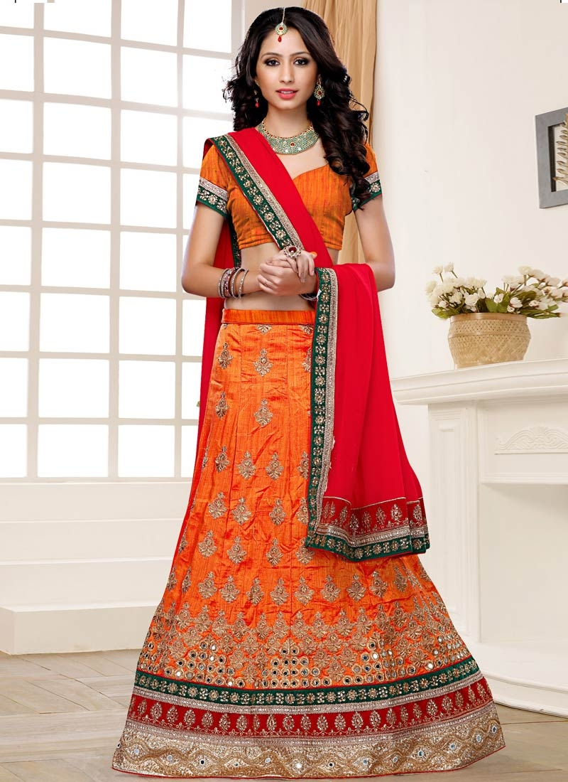 Sensational Embroidery Work Designer Lehenga Choli
