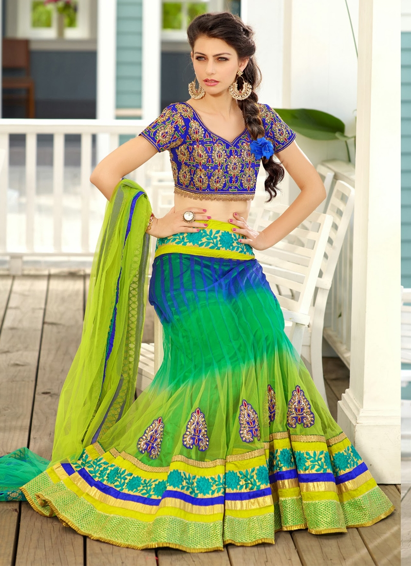 Sensational Party Wear Readymade Lehenga Choli