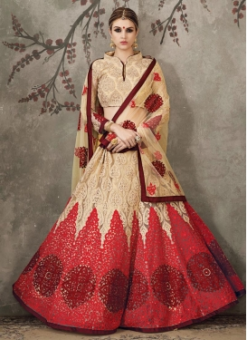 Sensible Net Booti Work Trendy Designer Lehenga Choli