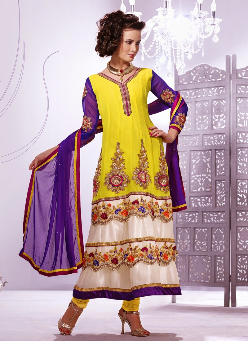 Sequins And Booti Work Designer Salwar Kameez