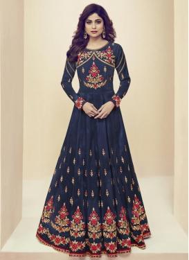 Shamita Shetty Art Silk Trendy Salwar Kameez
