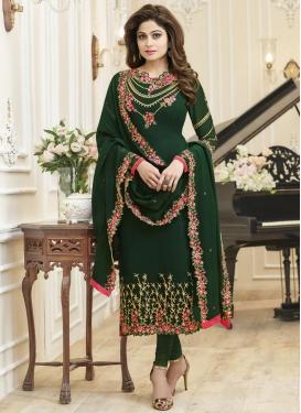 Shamita Shetty Faux Georgette Trendy Pakistani Salwar Suit
