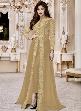 Shamita Shetty Trendy Designer Salwar Suit