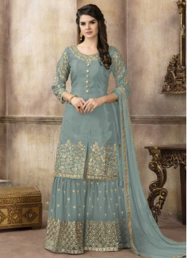 Sharara Salwar Suit For Festival