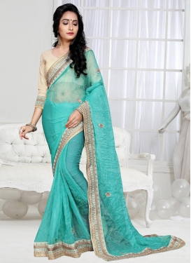 Shimmer Georgette Classic Saree