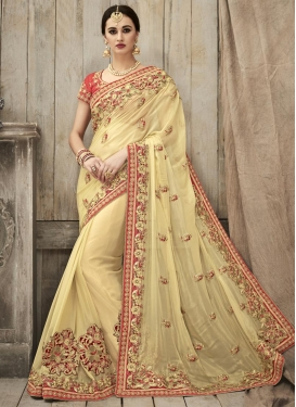 Shimmer Georgette Contemporary Style Saree