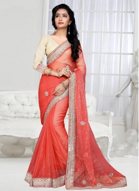 Shimmer Georgette Trendy Saree