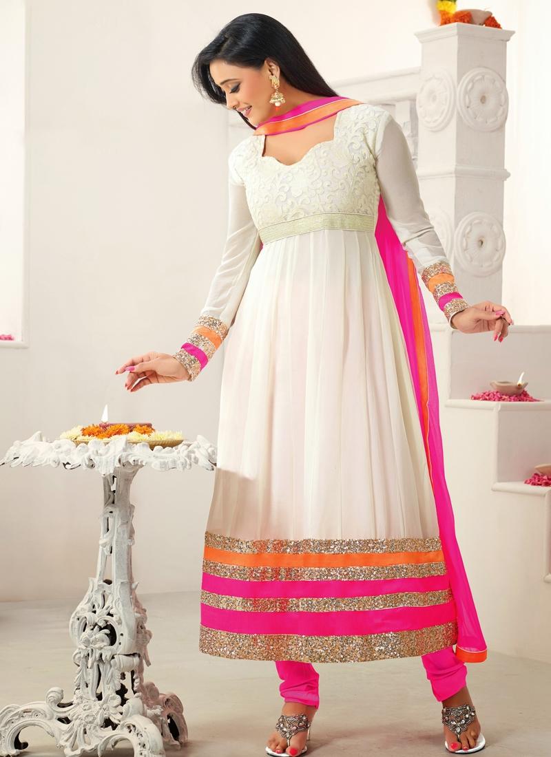 Shweta Tiwari Bollywood Anarkali Suit