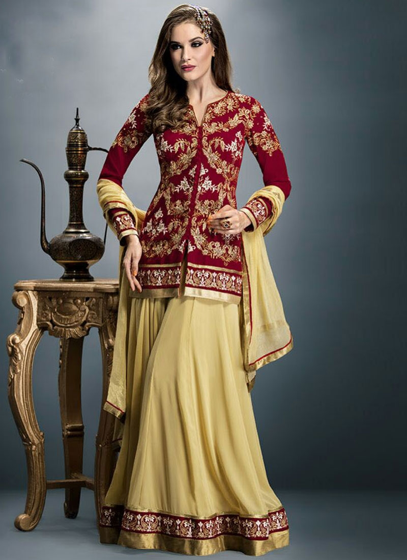 Sightly Velvet And Faux Georgette Party Wear Lehenga Choli