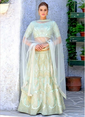 Silk A Line Lehenga Choli