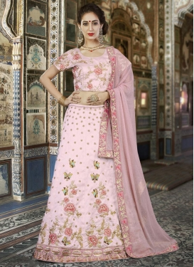 Silk A Line Lehenga Choli For Party