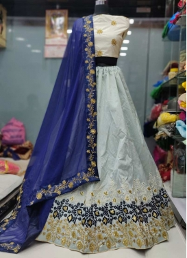 Silk A - Line Lehenga For Ceremonial