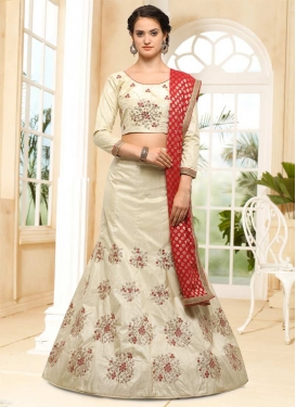 Silk A - Line Lehenga For Festival