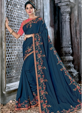 Silk Contemporary Style Saree