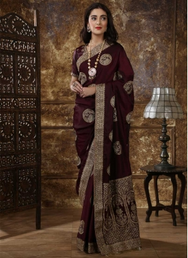 Silk Designer Contemporary Style Saree