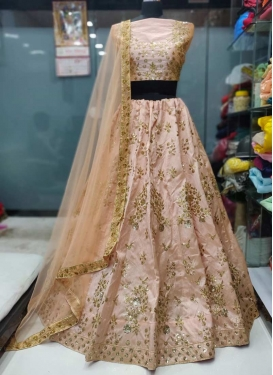 Silk Embroidered Work Trendy Lehenga Choli