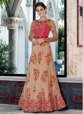 Silk Floor Length Gown For Party