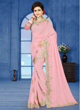 Silk Georgette Classic Designer Saree