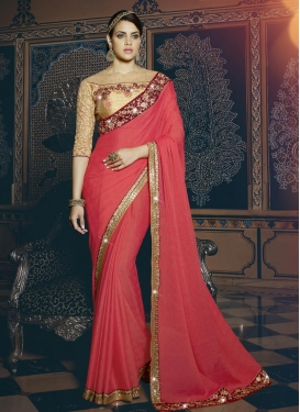 Silk Georgette Classic Saree
