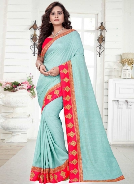 Silk Georgette Classic Saree For Ceremonial
