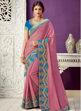 Silk Georgette Designer Contemporary Saree