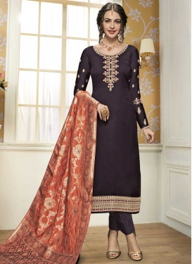 Silk Georgette Pant Style Pakistani Salwar Suit
